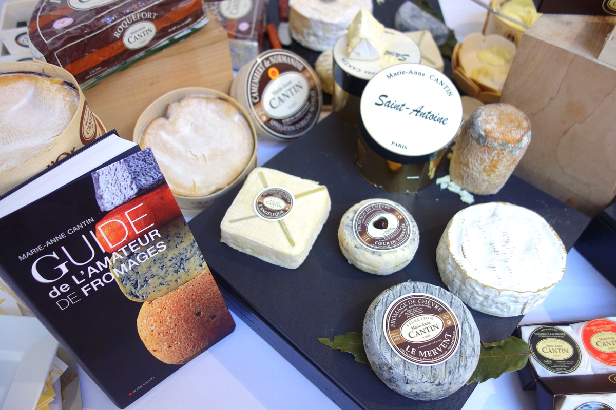 Monoprix Noël 2016 : fromages Marie-Anne Cantin