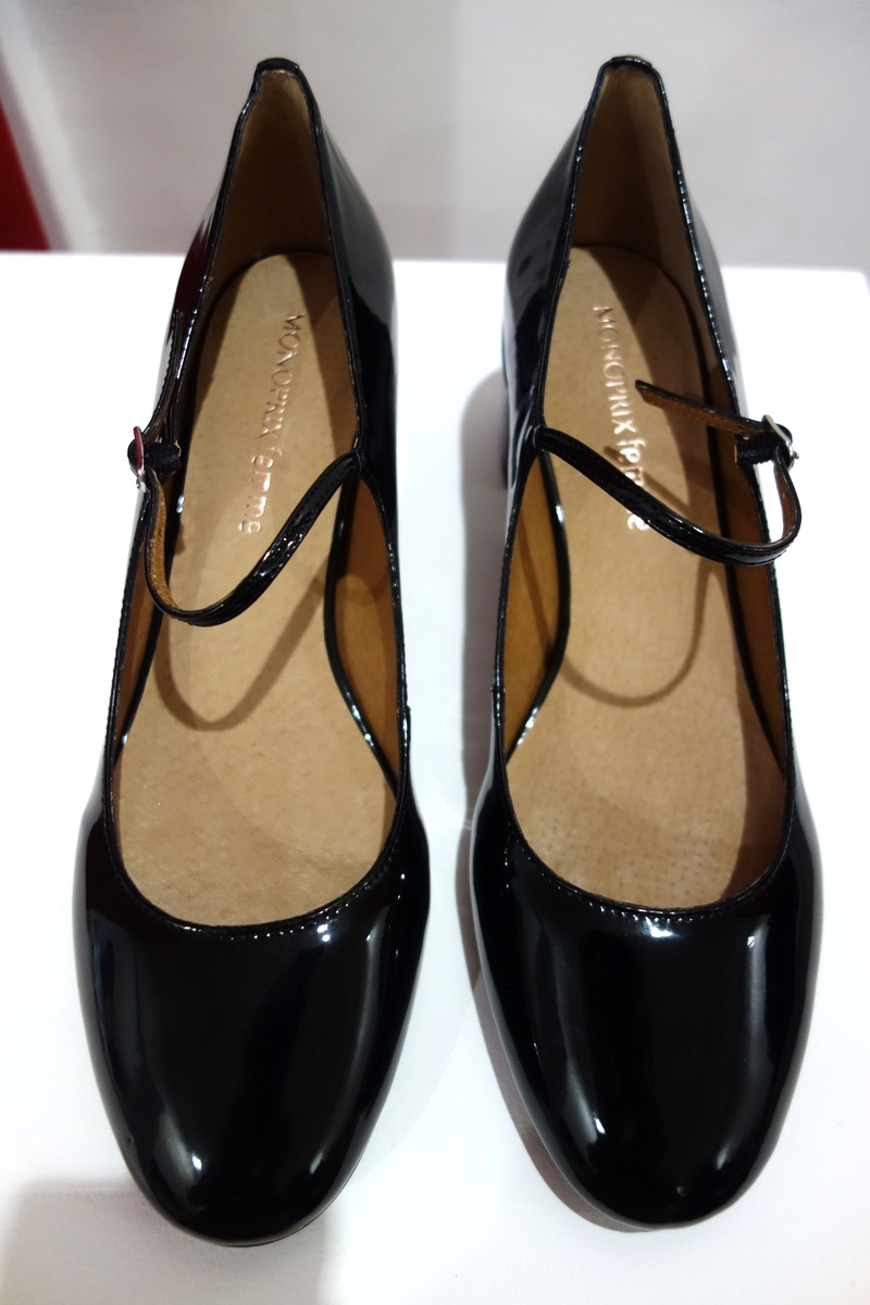 Chaussures vernies femme Monoprix Noël 2016