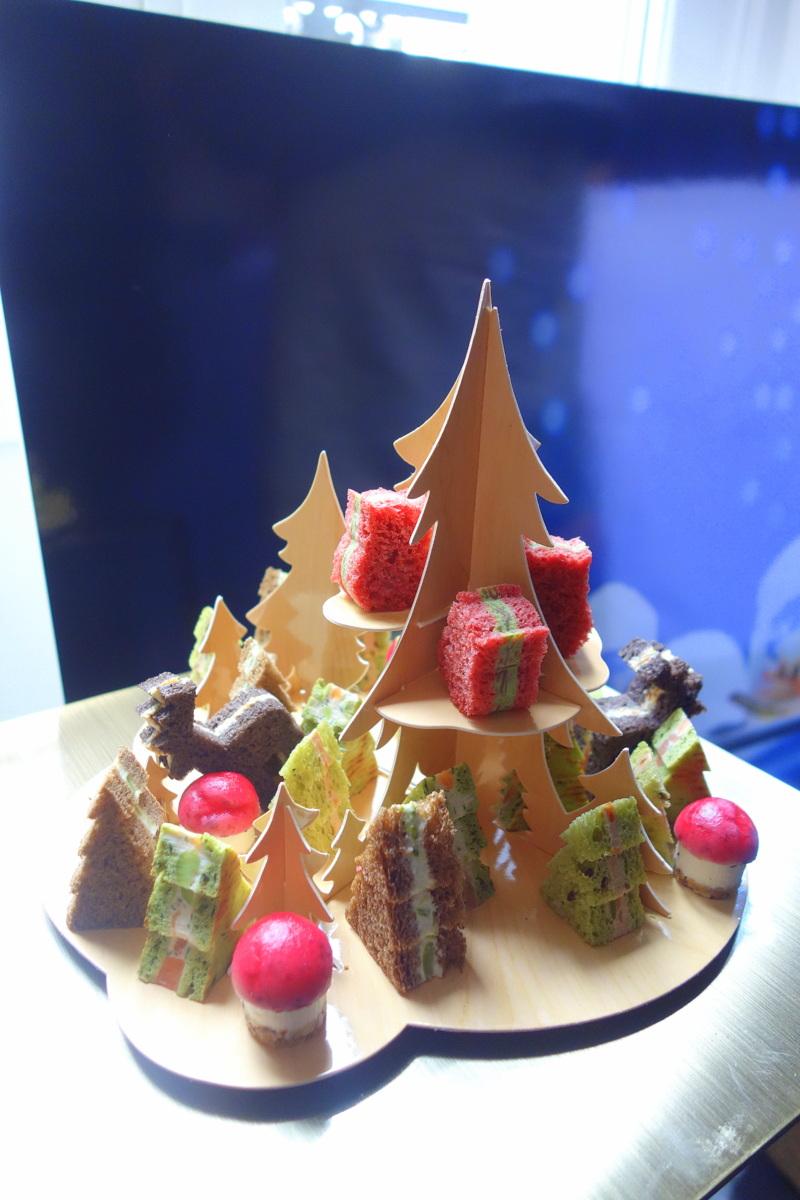 Forêt enchantée apéritive Picard Noël 2016