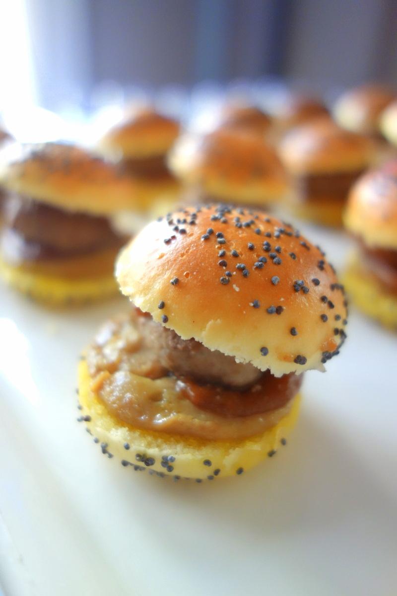 Mini-burgers au foie gras Picard Noël 2016