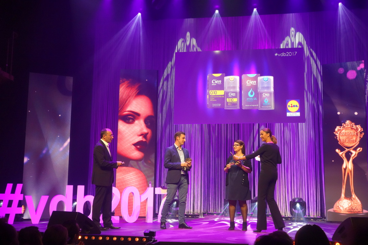 Victoires de la beauté 2017 - cinq distinctions pour Cien et Lidl