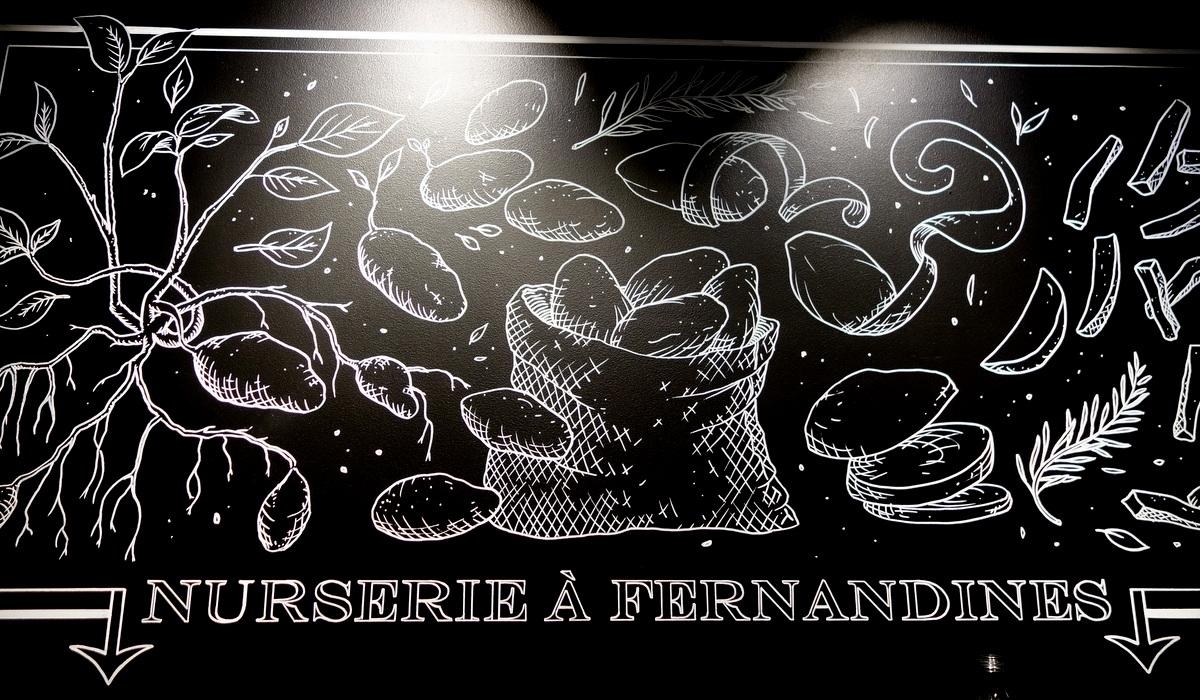 La déco de Big Fernand Montparnasse