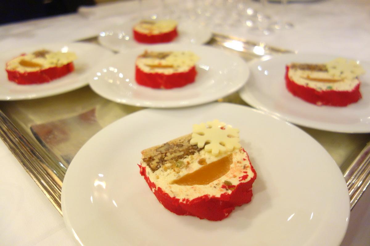 Bûche 2016 sur le thème des 13 desserts - Le Céladon - Hôtel Westminster