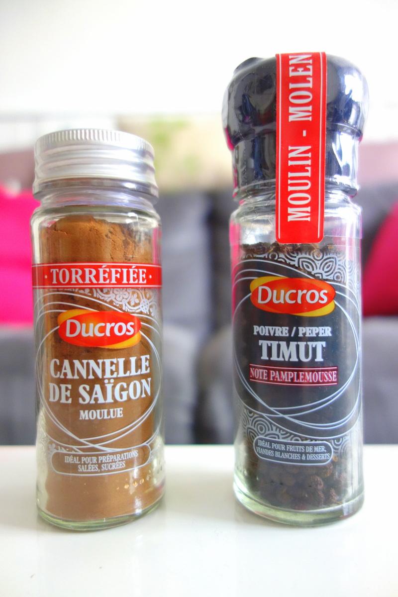 Les épices Ducros