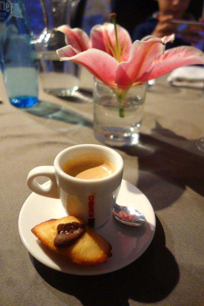 Restaurant le caveau des lys à Fontainebleau : café