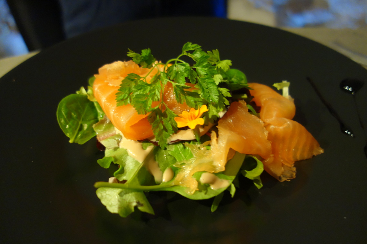Restaurant le caveau des lys à Fontainebleau : entrée enfant