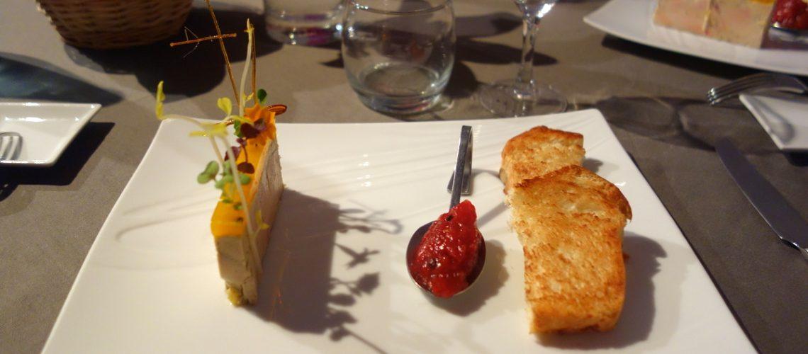 Restaurant le caveau des lys à Fontainebleau : le foie gras