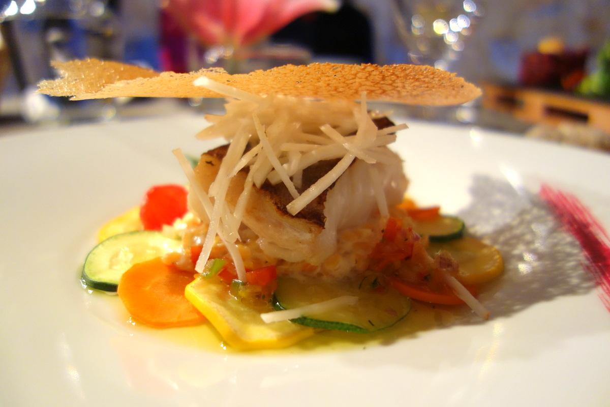 Restaurant le caveau des lys à Fontainebleau : le cabillaud