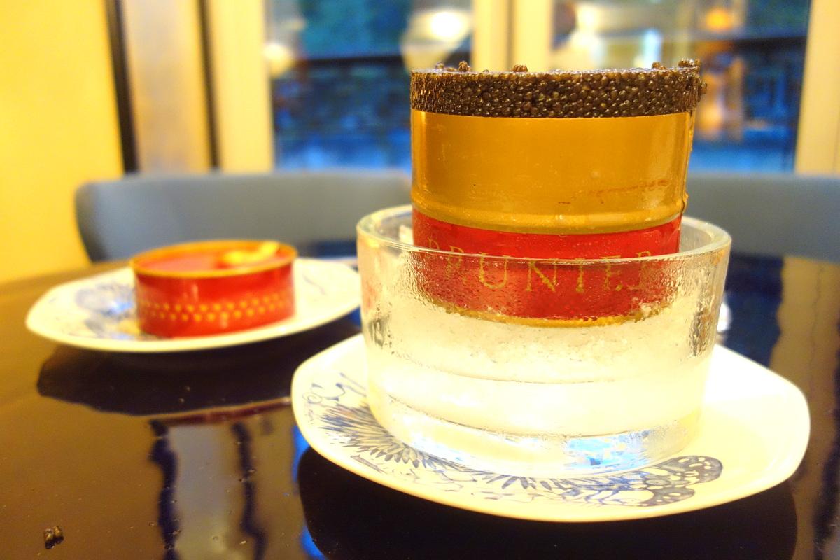 Le caviar Saint James Prunier