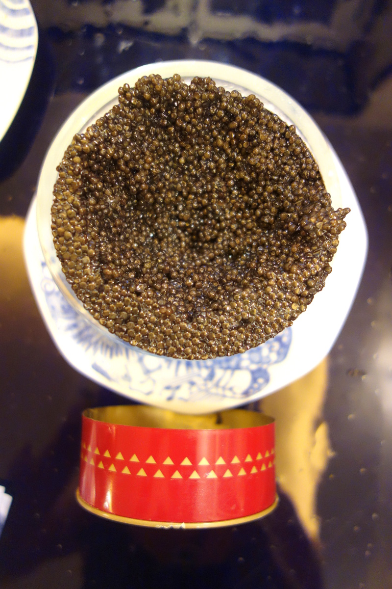 Le caviar Saint James Prunier