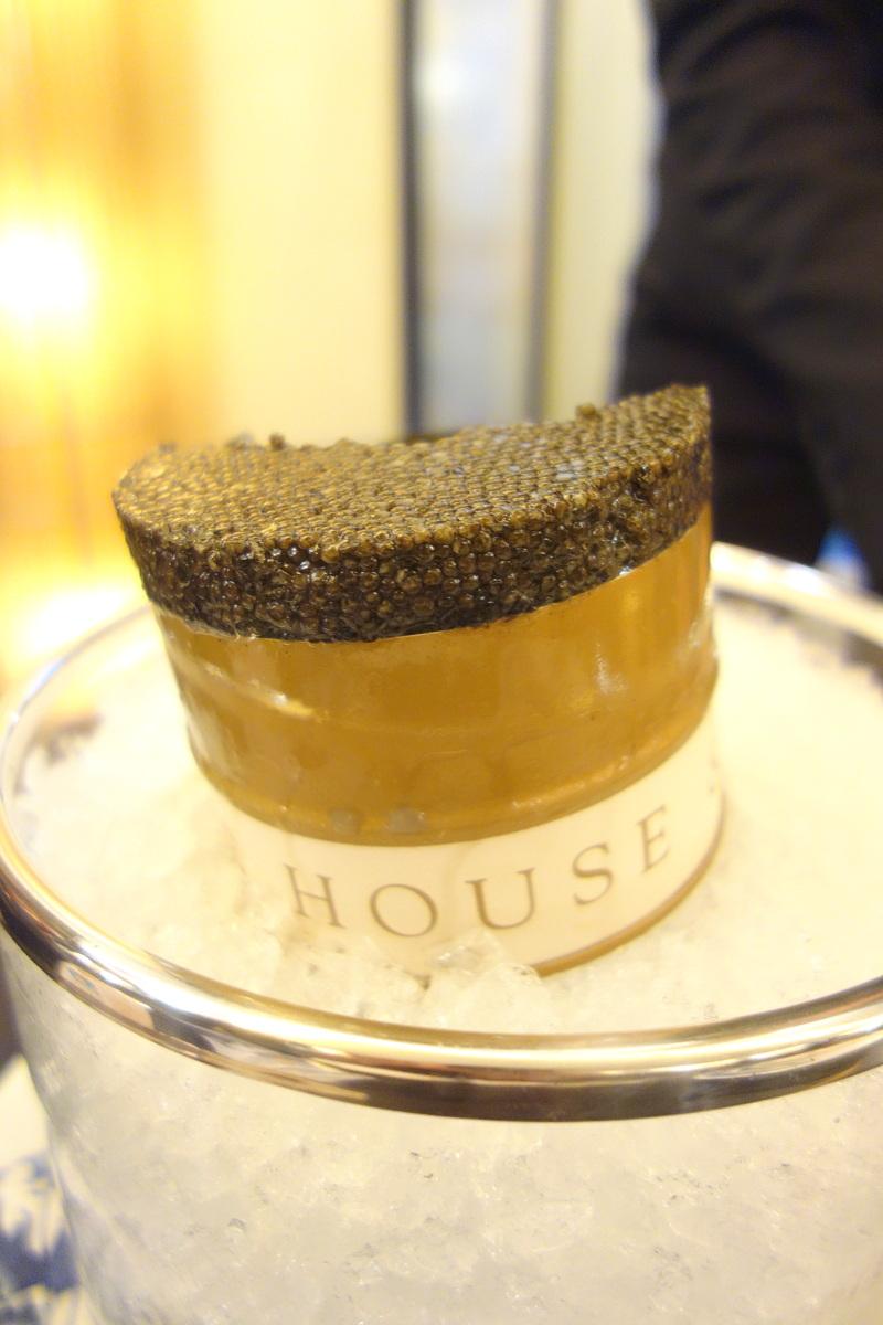 Le caviar Paris Prunier