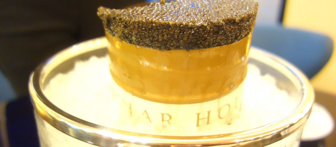Le caviar Paris Prunier