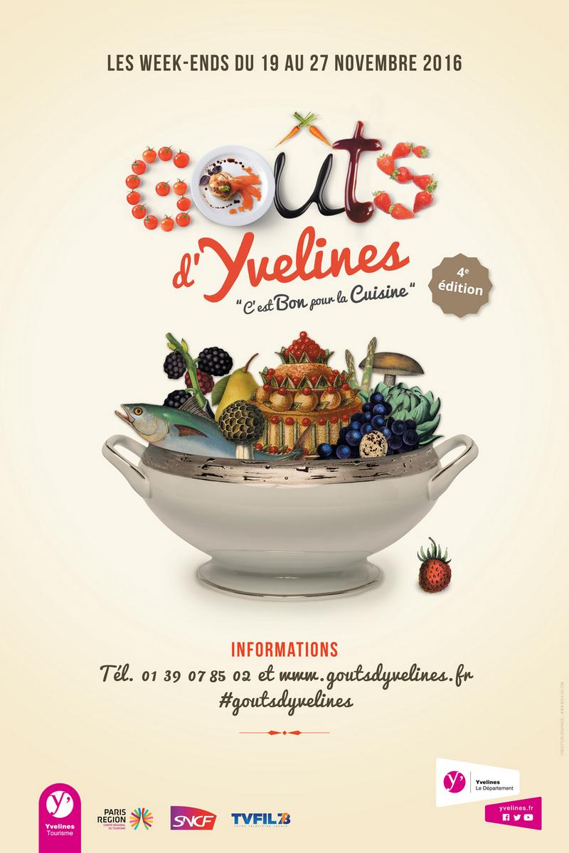 L'affiche de Goûts d'Yvelines 2016
