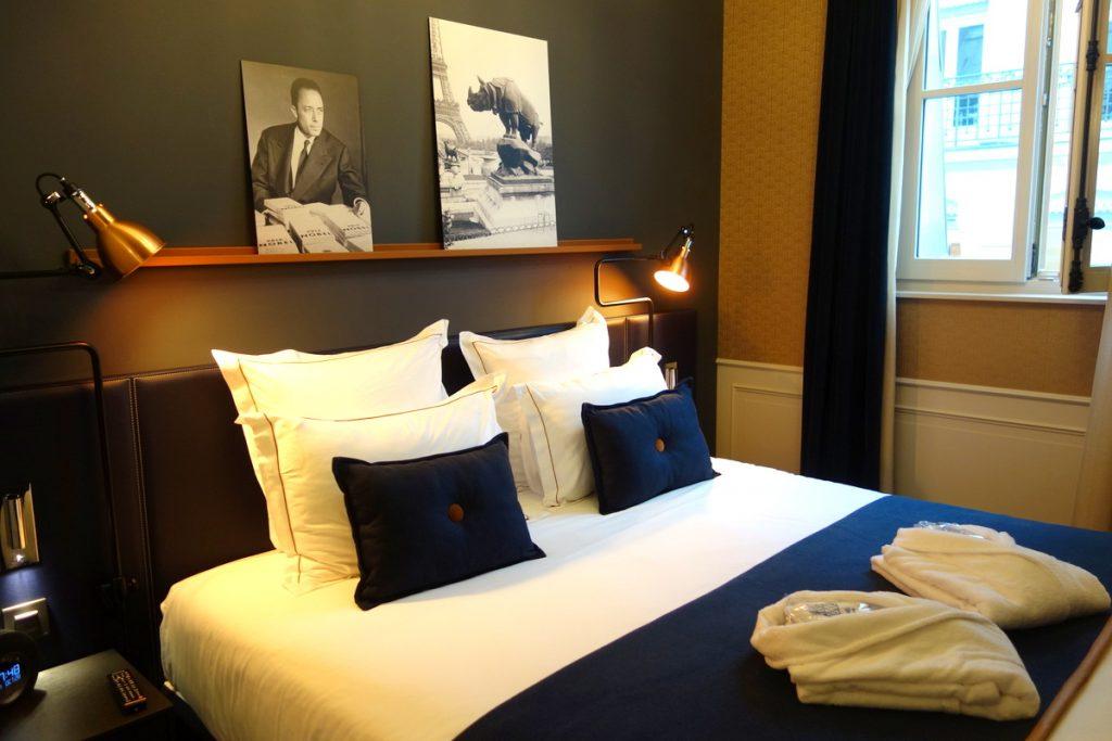 L'hôtel Square Louvois à Paris : la chambre 509