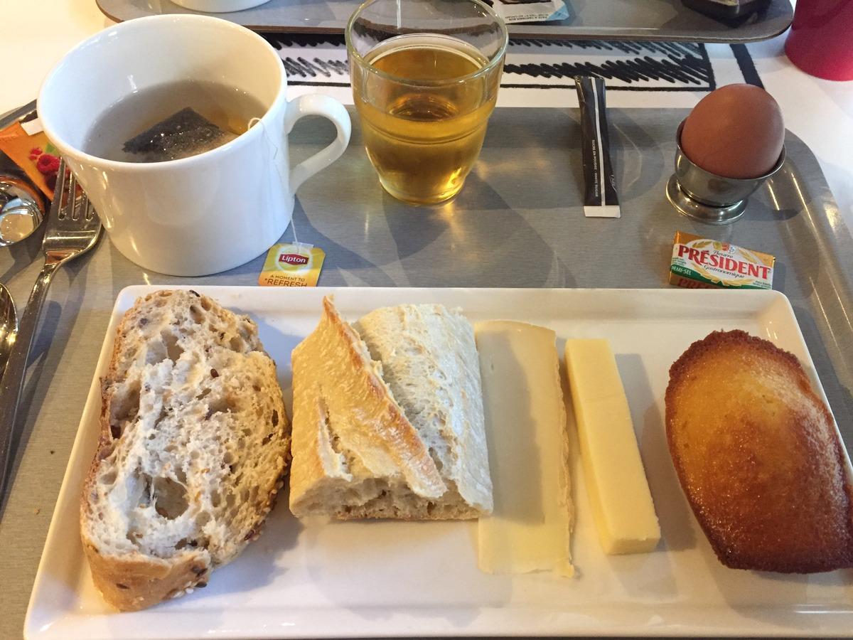 L'hôtel Ibis château de Fontainebleau : le petit-déjeuner