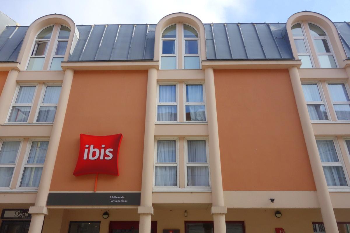 L'hôtel Ibis château de Fontainebleau