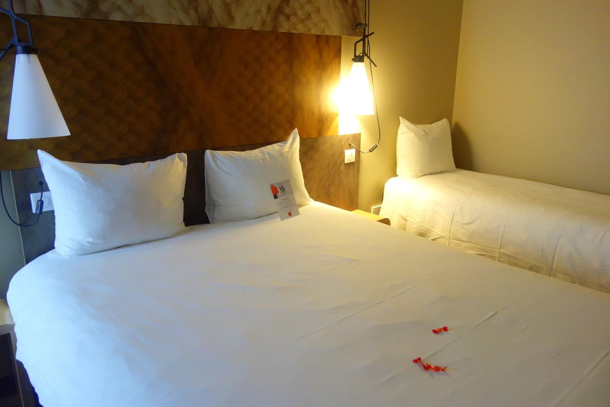 L'hôtel Ibis château de Fontainebleau : notre chambre double