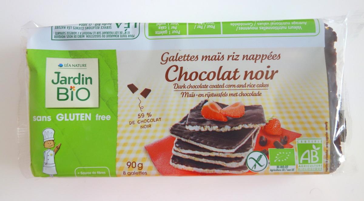 Galettes maïx chocolat Jardin bio