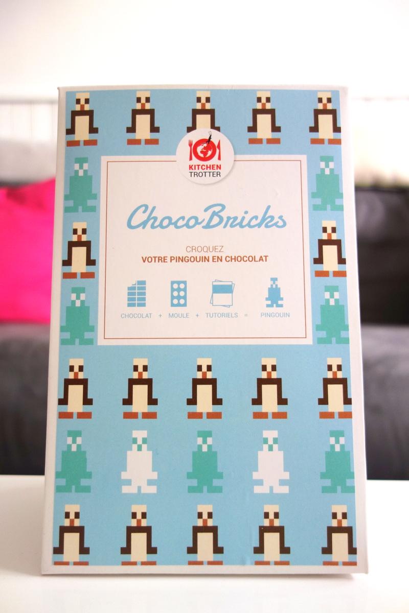 Les briques en chocolat en kit de Kitchen trotter