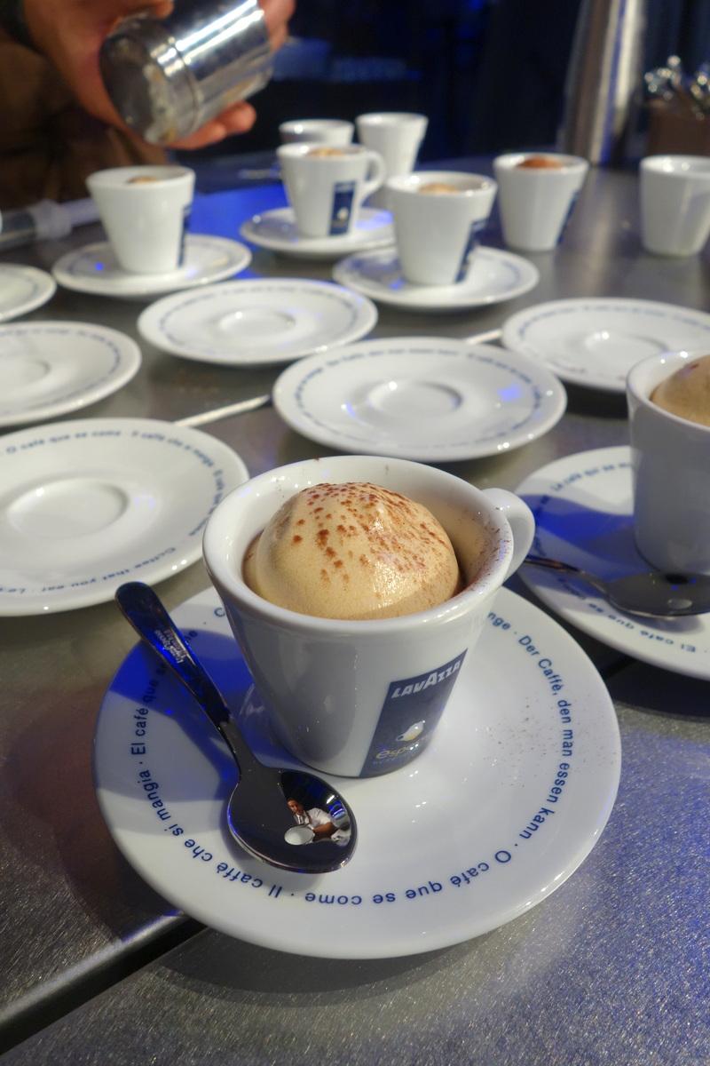 Caviar de café Lavazza & èspresso cappuccino