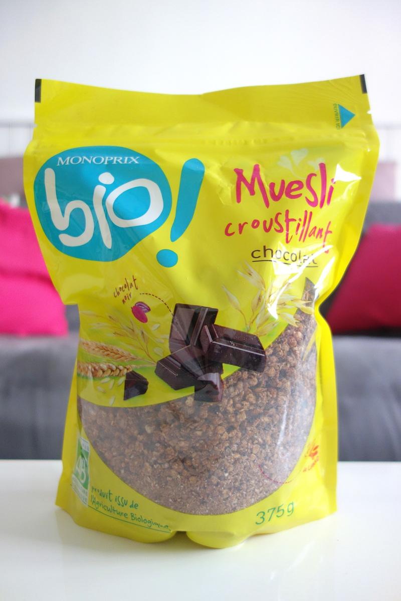 La gamme bio Monoprix pour le petit-déjeuner
