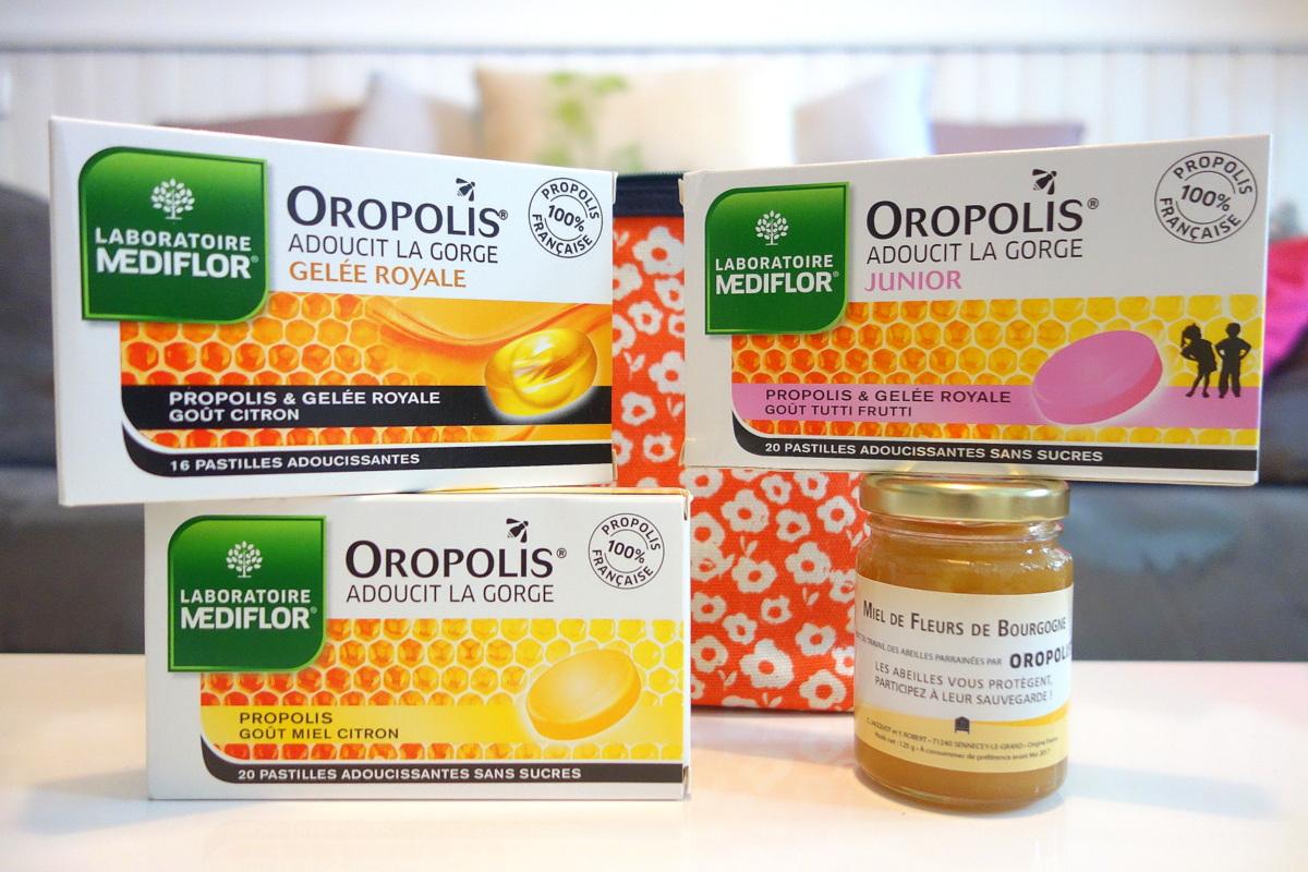 Pastilles pour la gorge Oropolis