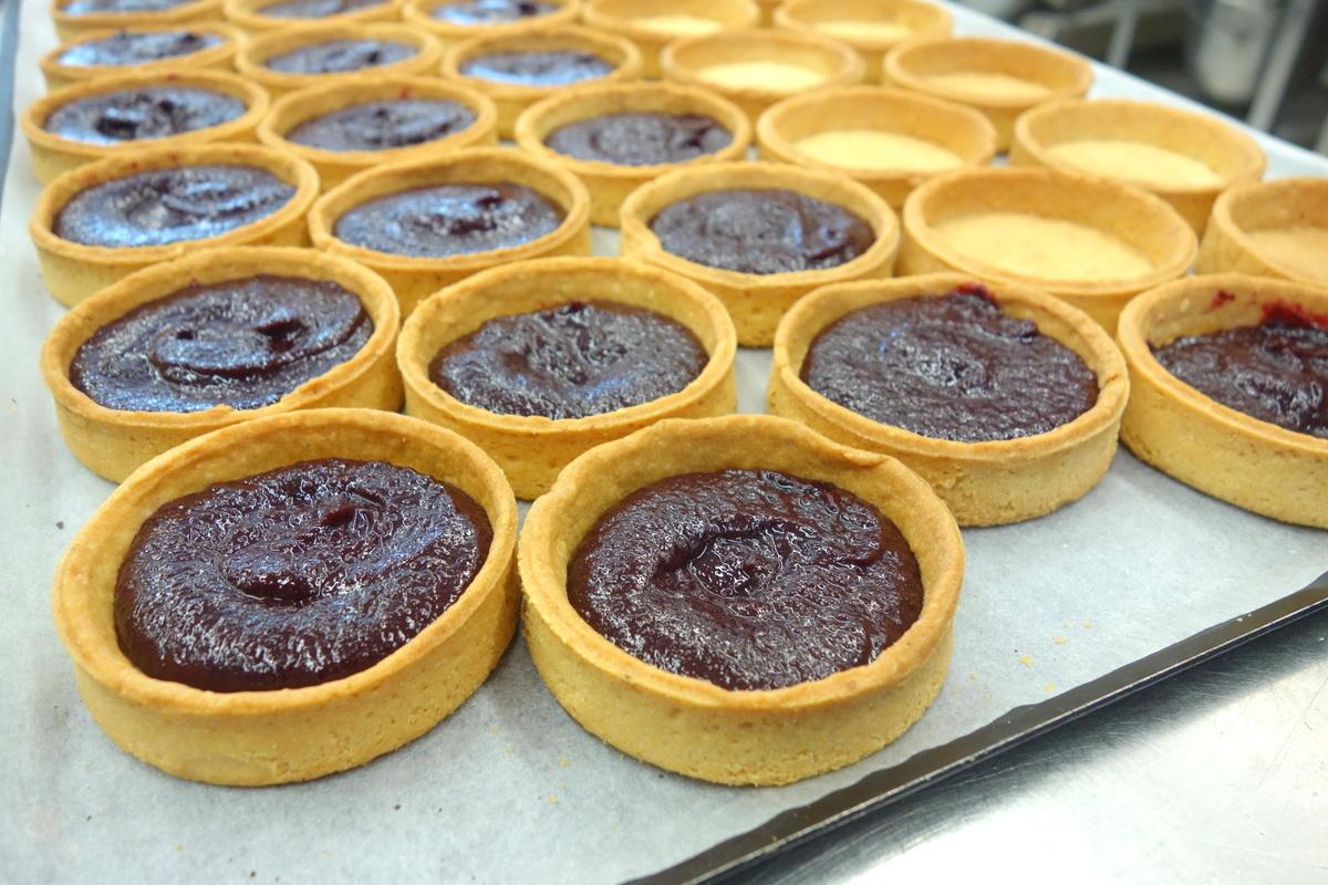 Goûts d'Yvelines : les tartelettes à la myrtille Daubos