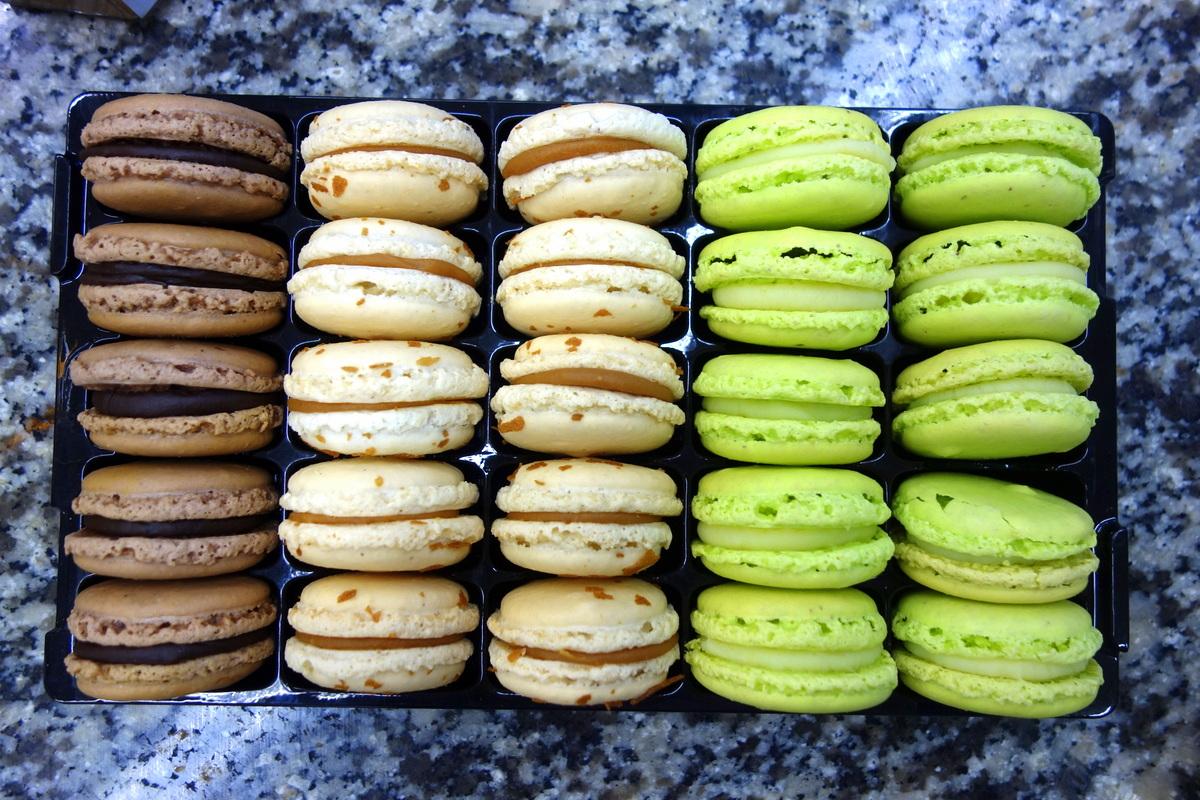 Goûts d'Yvelines : les macarons Daubos
