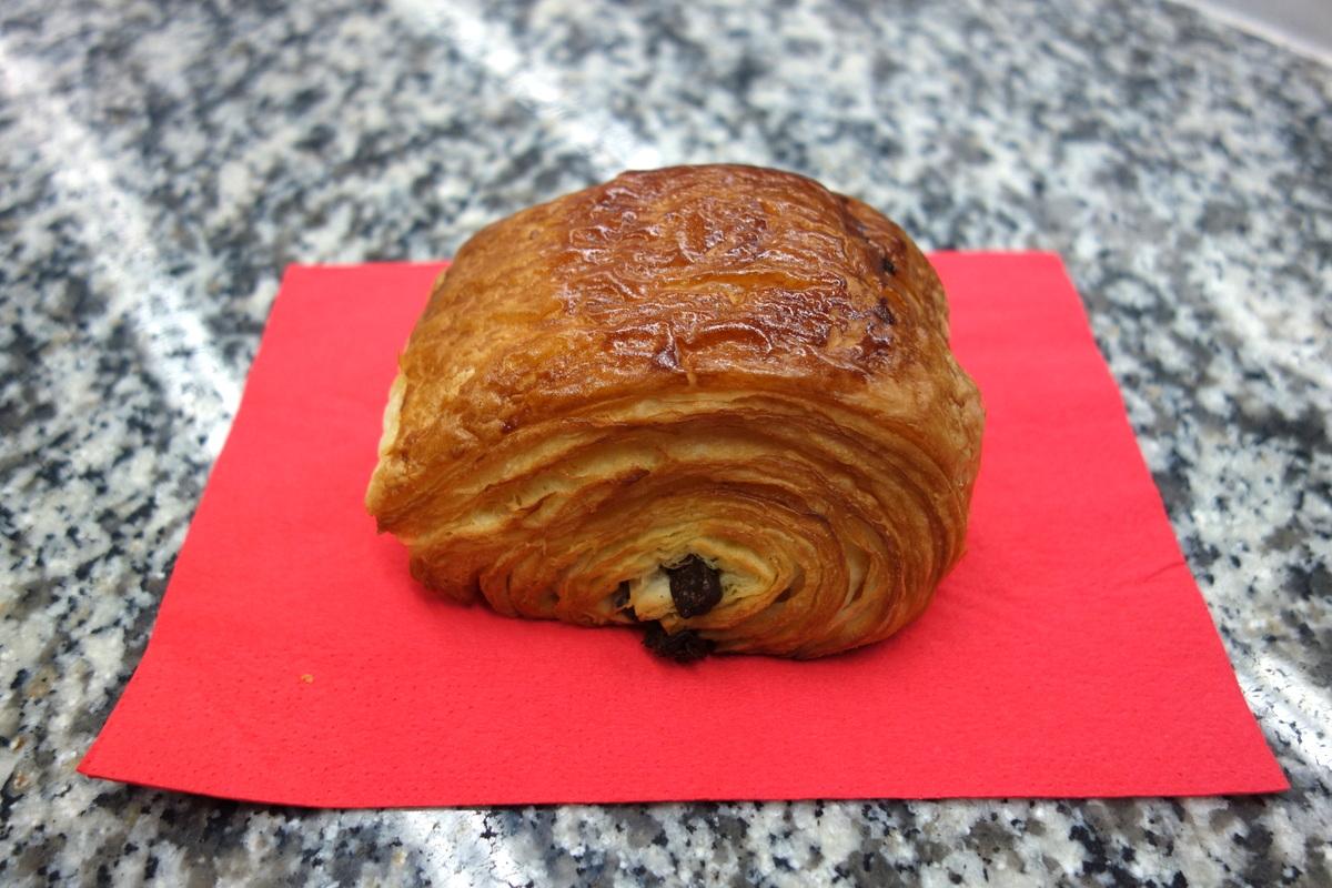 Goûts d'Yvelines : le pain au chocolat Daubos
