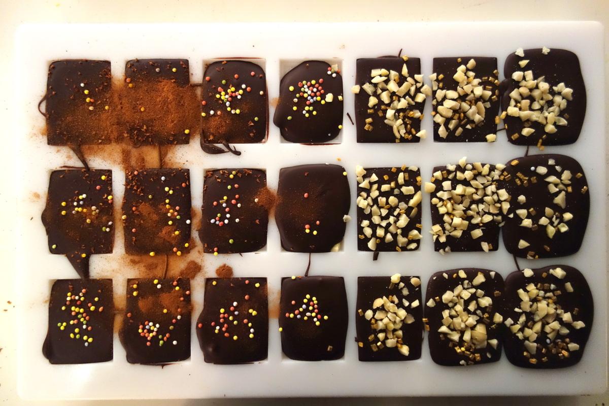 Le Petit Carré de Chocolat : gamme de chocolats grands crus
