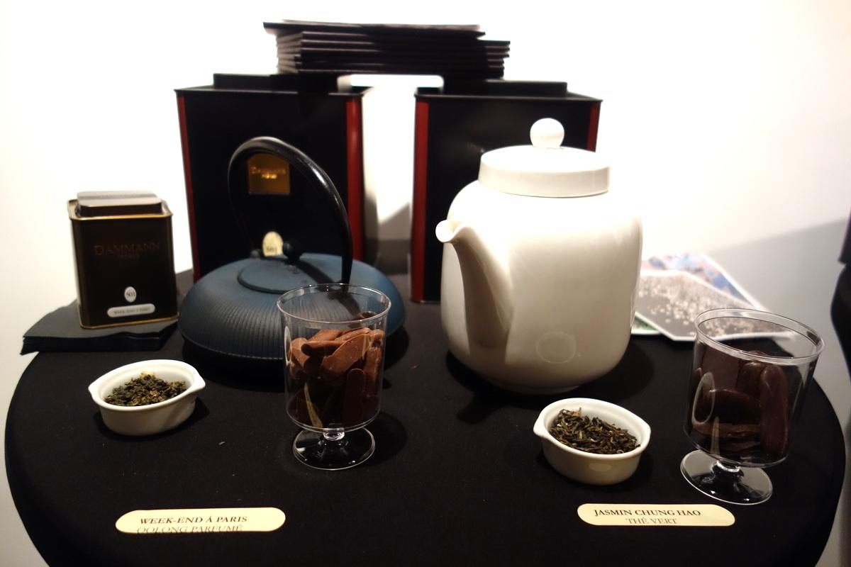 Le Petit Carré de Chocolat : alliances chocolat-thé