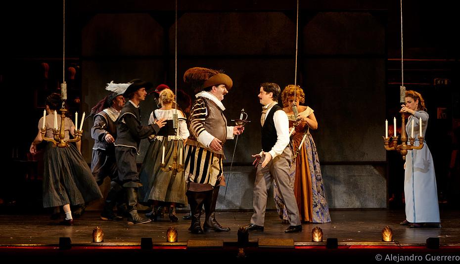 Cyrano de Bergerac : le temps de la première ! - Photo : Ajejandro Guererro