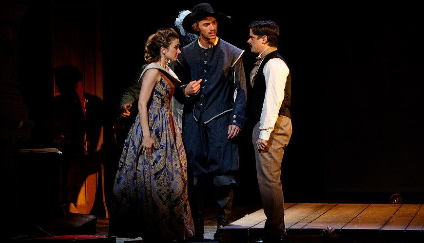 Jeanne, Leonidas de Volny et Edmond Rostand - Photo : Ajejandro Guererro