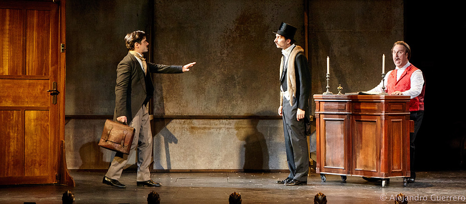 Edmond Rostand et Georges Faydeau - Photo : Ajejandro Guererro