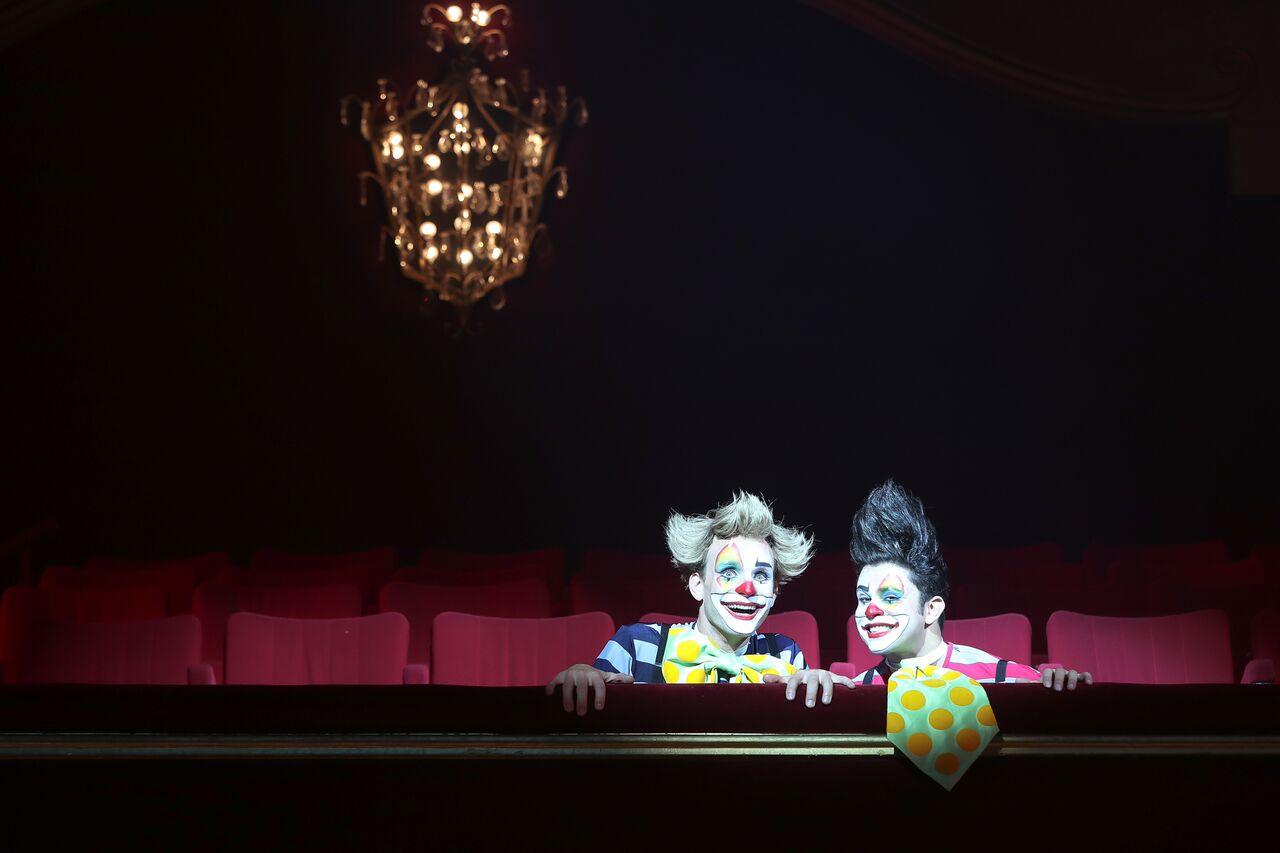Timéo, la circomédie musicale : les clowns