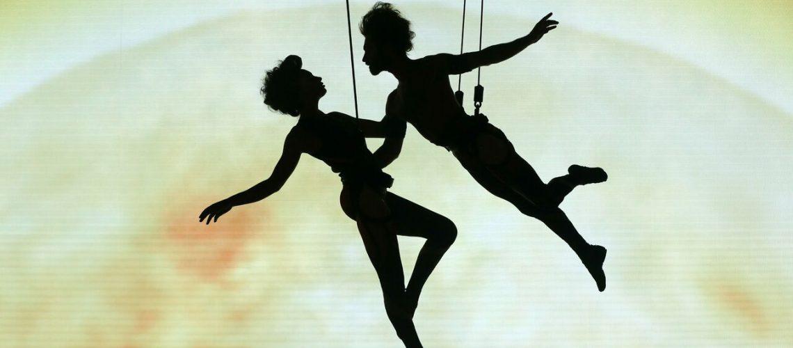 Timéo, la circomédie musicale : les trapézistes