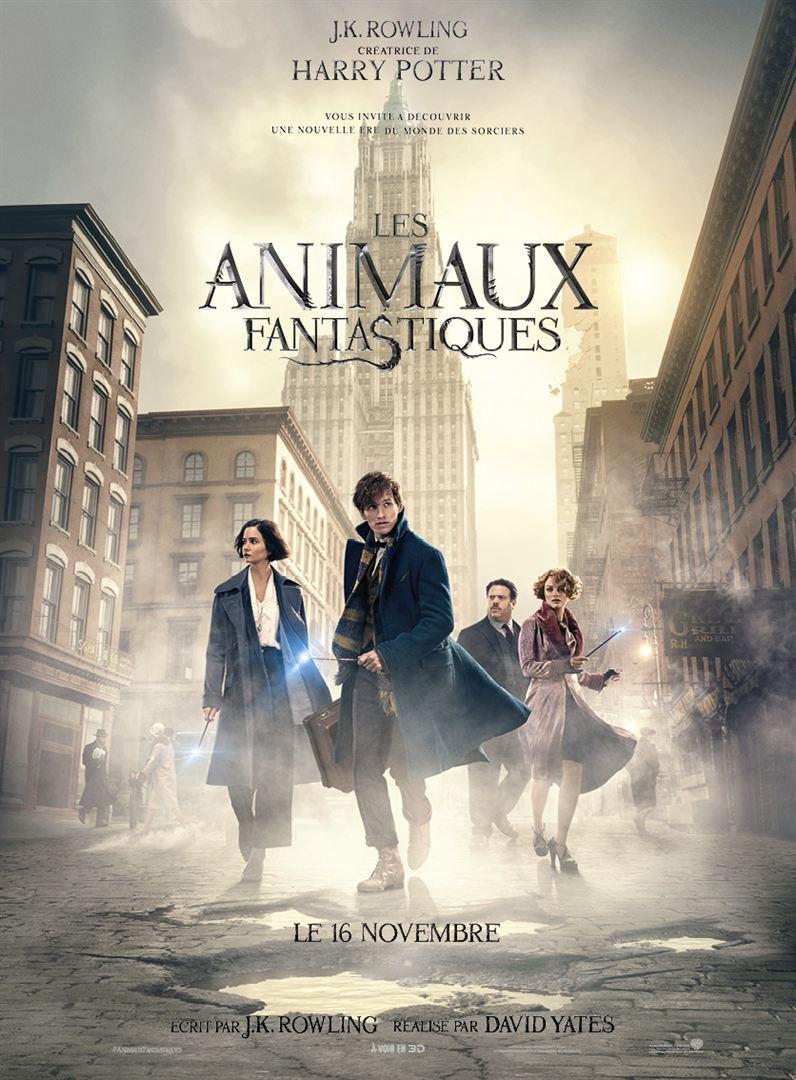"""""""Les Animaux fantastiques"""" : l'affiche française"""