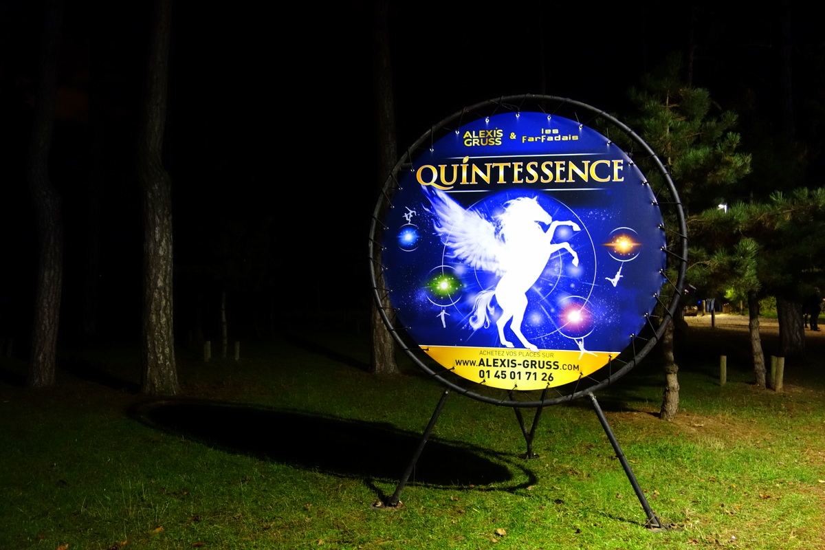 Quintessence, un spectacle d'Alexis Gruss
