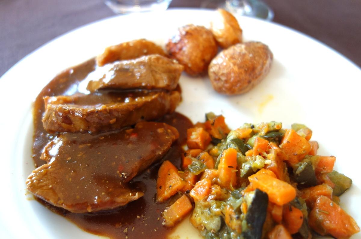 Déjeuner à l'auberge sans nom à Chaource, une bonne adresse auboise