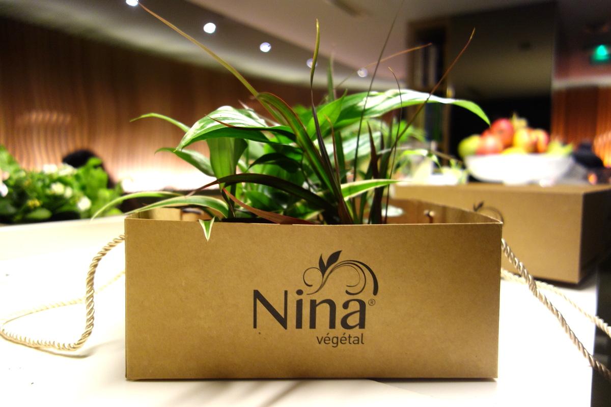 Nina végétal - mur de plantes végétalisé