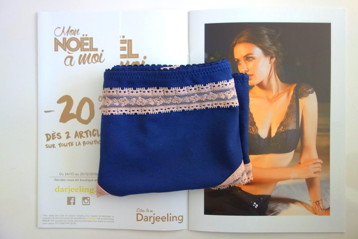 Les jolies culottes en coton de Darjeeling (12€)