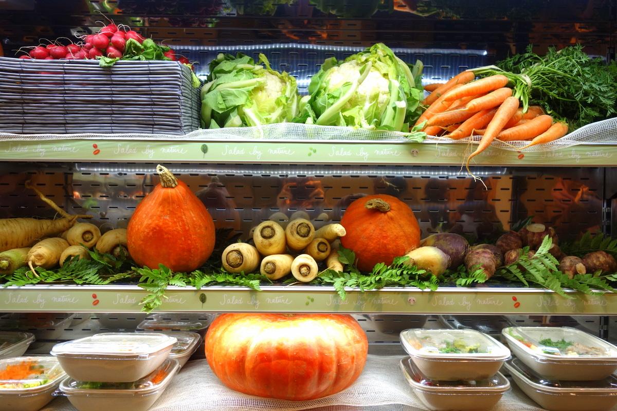 Jour - restaurant healthy Galeries Lafayette - Le blog de Lili