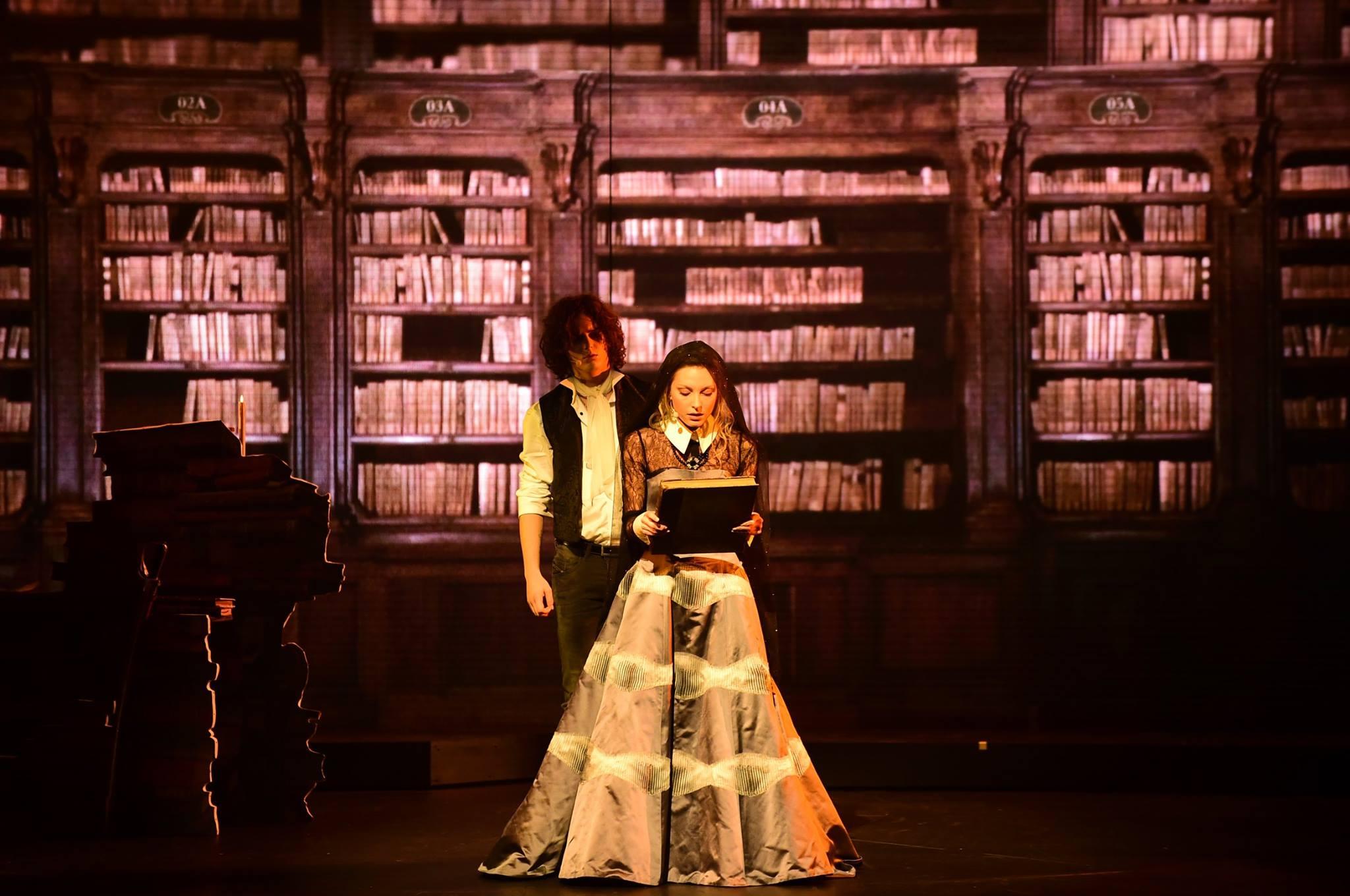 Le Rouge et le noir, opéra rock : Julien Sorel et Mathilde