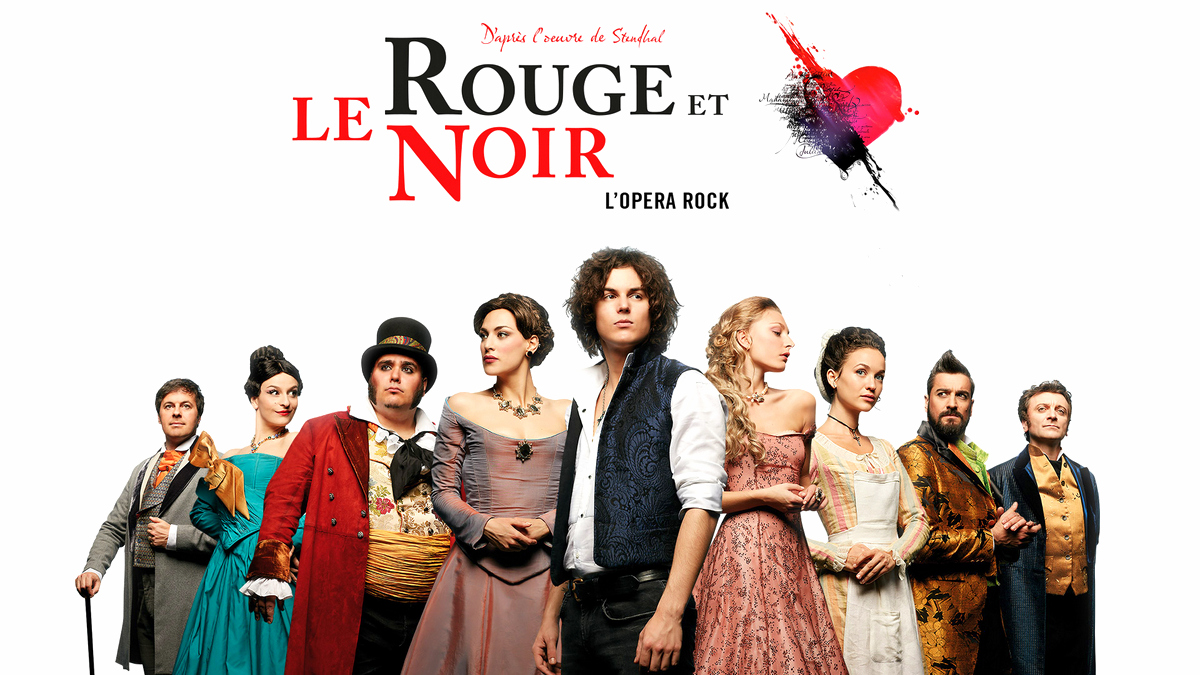 Le Rouge et le noir, opéra rock : le casting