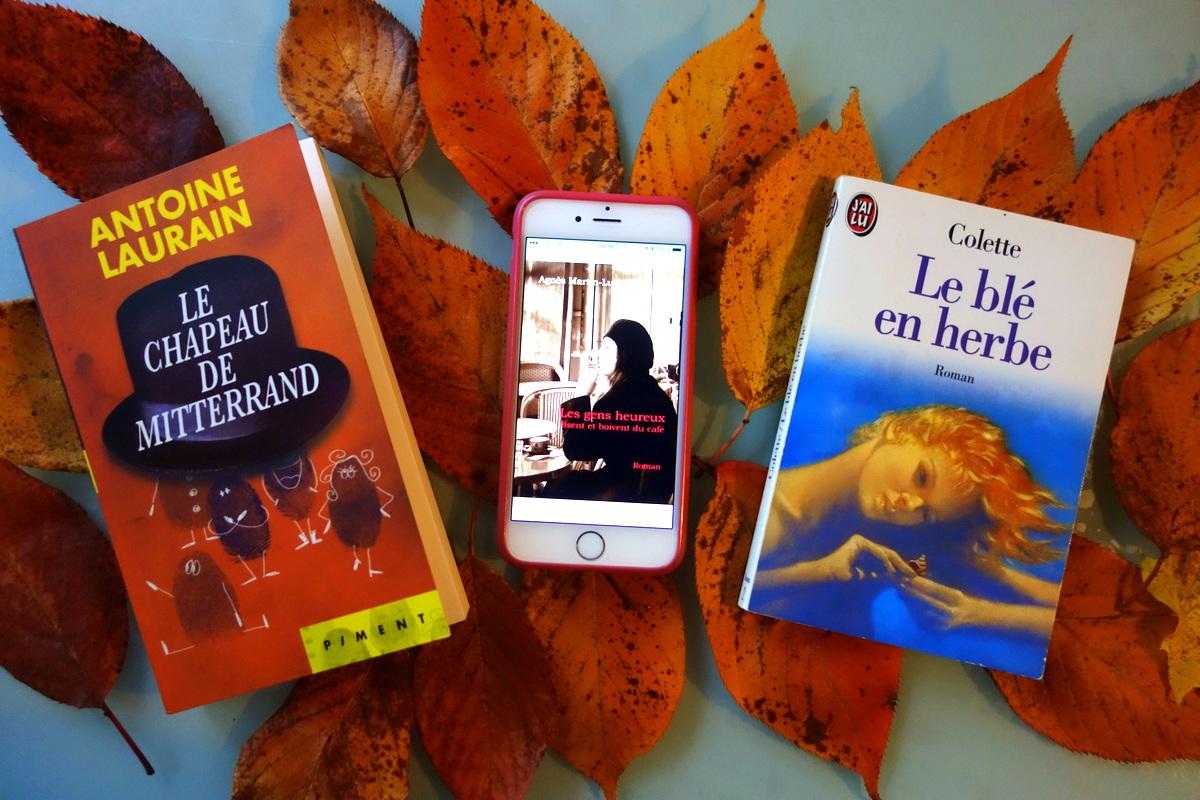 Trois idées de lecture - Photo : blog de Lili