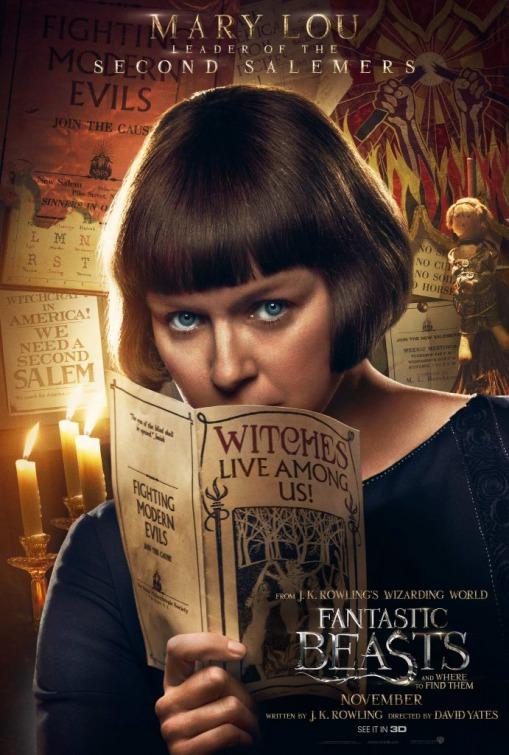"""""""Les Animaux fantastiques"""" : les affiches des personnages"""
