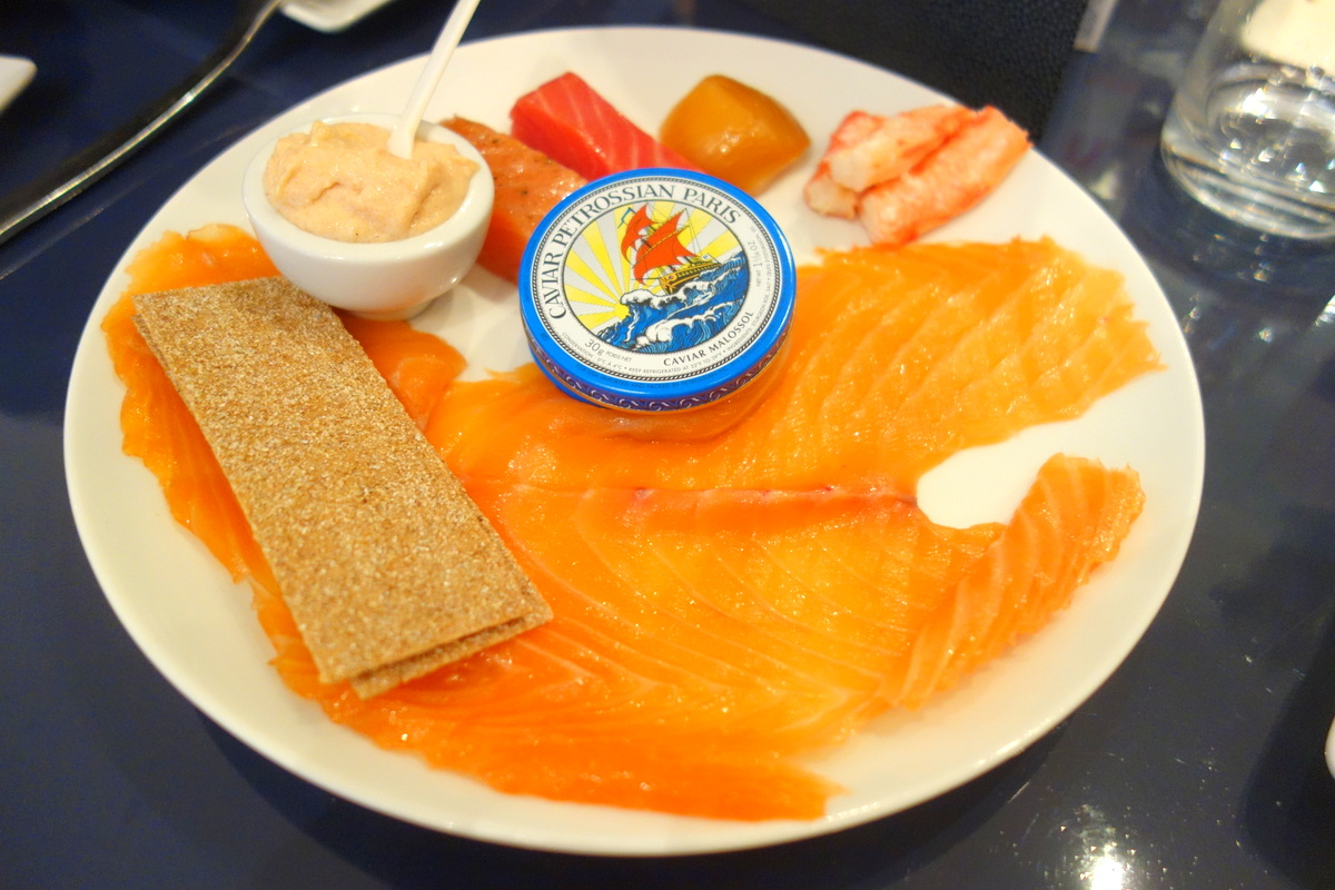 Petrossian Courcelles, le restaurant - Le blog de Lili