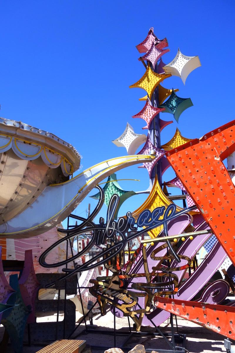 The Neon Museum, Downton Las Vegas, photo : le blog de Lili