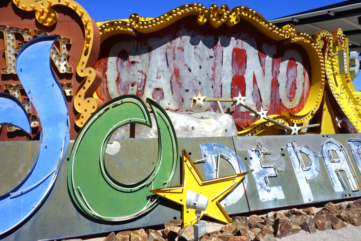The Neon Museum, Downton Las Vegas, photo : le blog de Lili