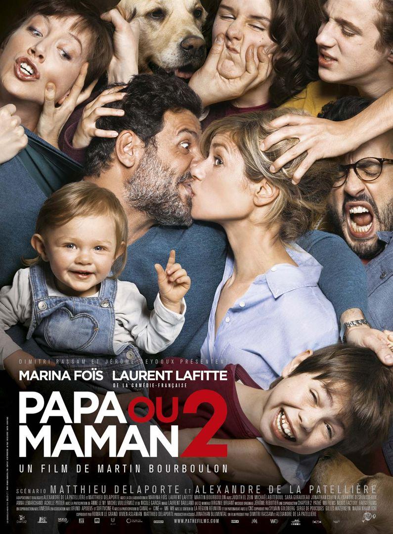 """""""Papa ou maman"""" : l'affiche"""